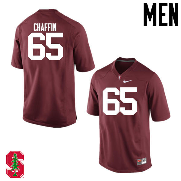 Men Stanford Cardinal #65 Brian Chaffin College Football Jerseys Sale-Cardinal