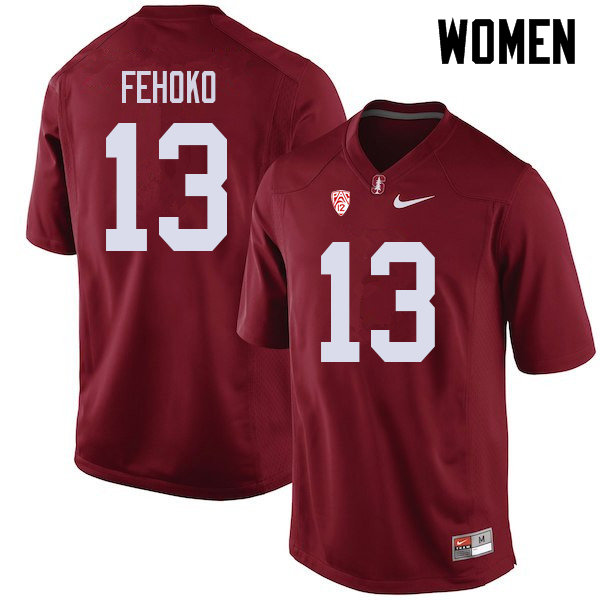 Women #13 Simi Fehoko Stanford Cardinal College Football Jerseys Sale-Cardinal